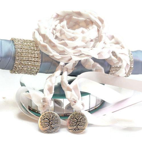 Pink Sand Tree Of Life  Wedding Handfasting Cord #Wedding