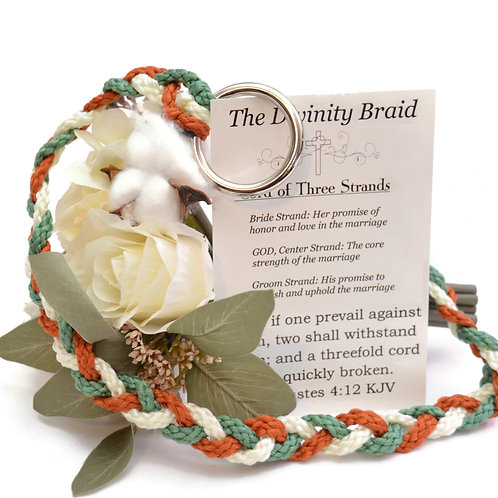 Divinity Braid  Rustic Sage Cord Of Three Strands #DivinityBraid