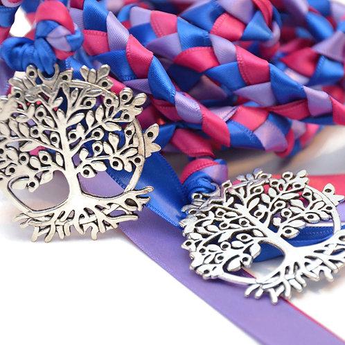 Bisexual Flag Beltane Tree of Life Wedding Handfasting Cord #Wedding #LGBTQ
