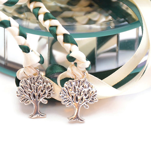 Ivory Hunter Tree of Life Wedding Handfasting Cord