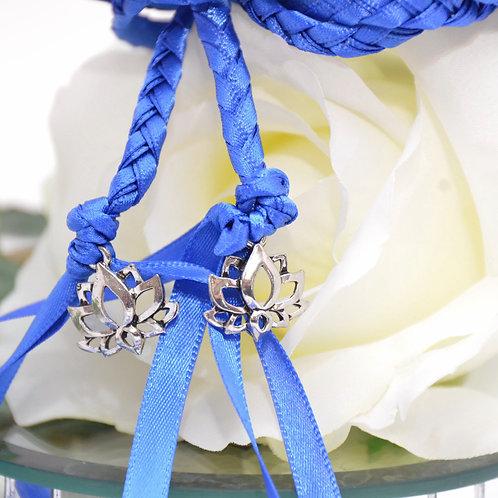 Royal Lotus Peace Theme Wedding HandfastingCord #Handfasting #DivinityBrai