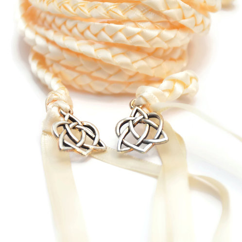 Divinity Braid Ivory Celtic Hear Wedding Handfasting Cord #Wedding #Handfasting