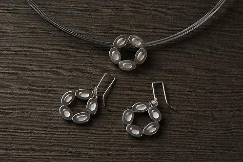 Riverstone Circle Earrings