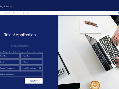 Create Online Applications, Integrated Submissions forms