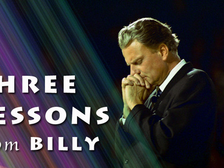 Three Lessons from Billy