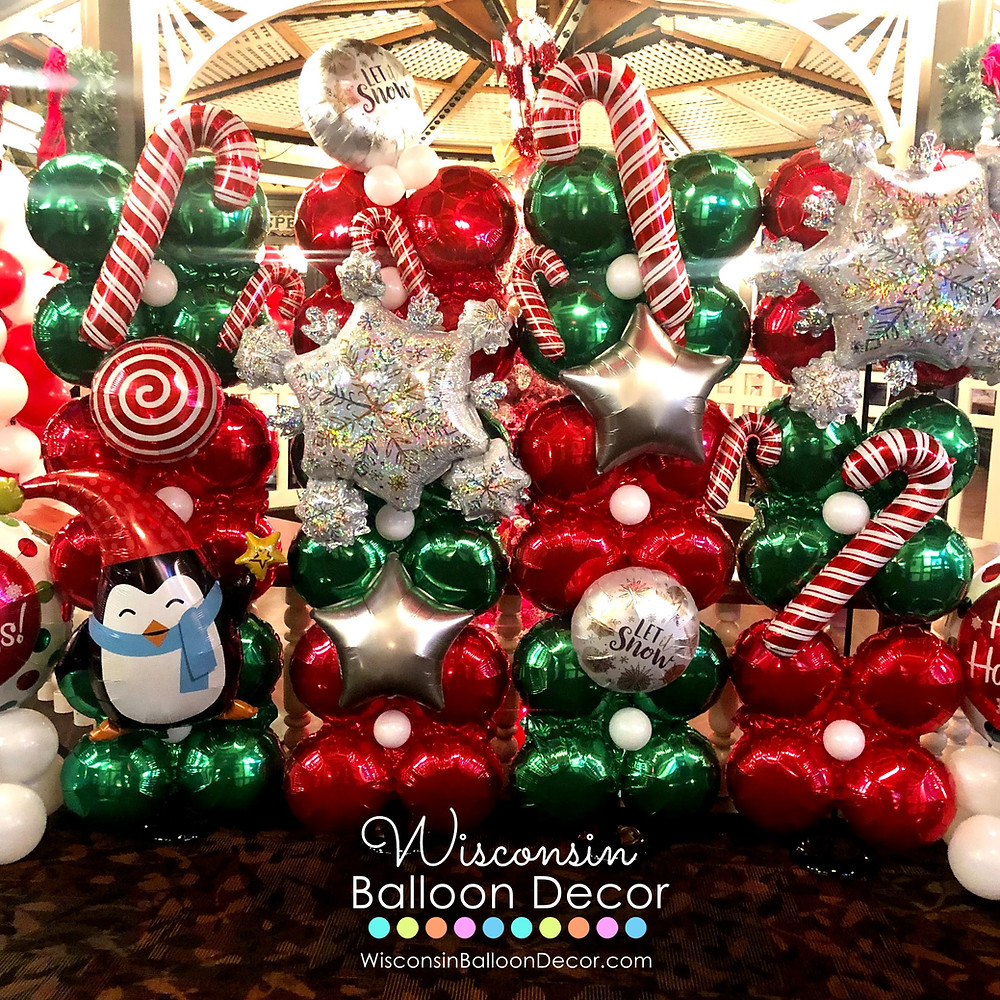 Christmas Balloon Wall