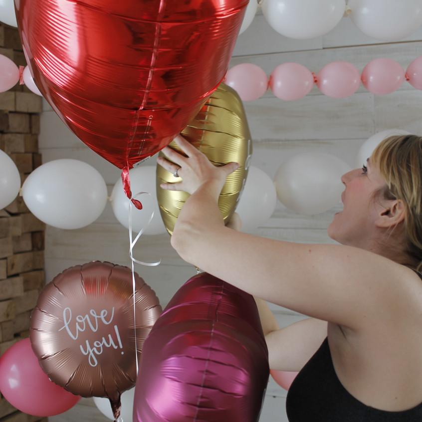 Heart Balloon Arrangement