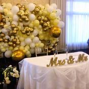 Wedding Ballooon Backdrop