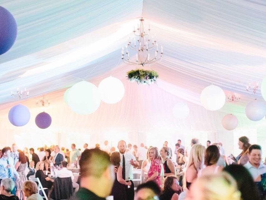 balloons, Wedding, Th Abbey Resort, Lake Geneva, Wedding Balloons