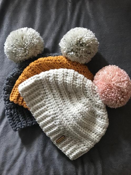 Chunky Crochet Beanie Hat