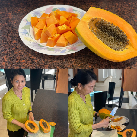 The Papaya…food is medicine