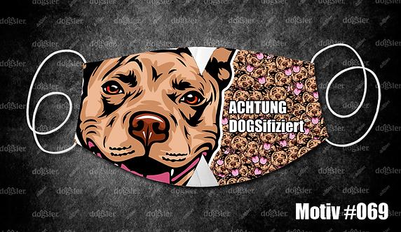 Motiv 069 DOGSifiziert Mund/Nasen-Maske