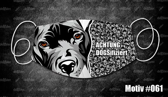 Motiv 061 DOGSifiziert Mund/Nasen-Maske
