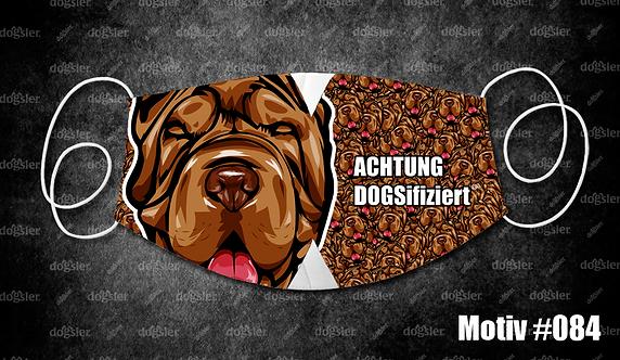 Motiv 084 DOGSifiziert Mund/Nasen-Maske