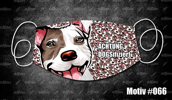 Motiv 066 DOGSifiziert Mund/Nasen-Maske