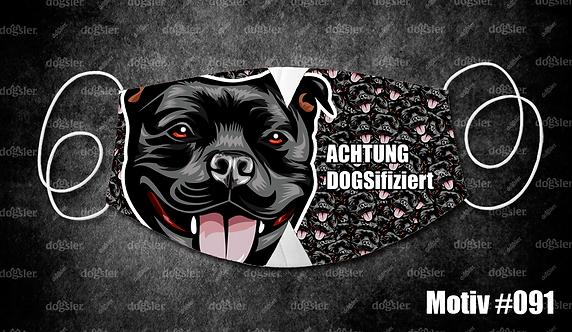 Motiv 091 DOGSifiziert Mund/Nasen-Maske