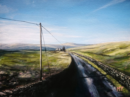 Painting the Pennines