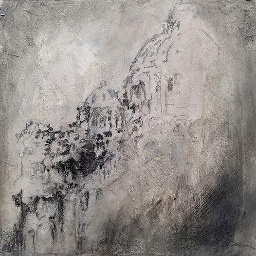 """ART Collectible - """"Basilica evening Fog """""""