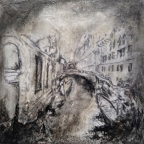 "ART Collectible - ""Venice Bridge"""