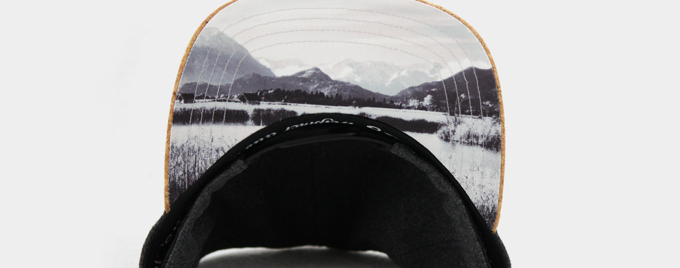 Landschafts-Druck im Unterschirm