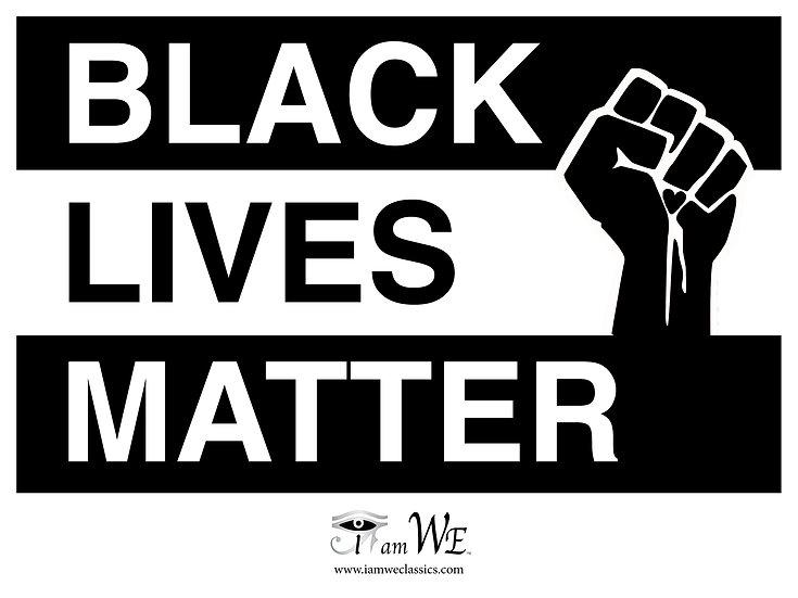 Black Lives Matter Yard Sign (solidarity)