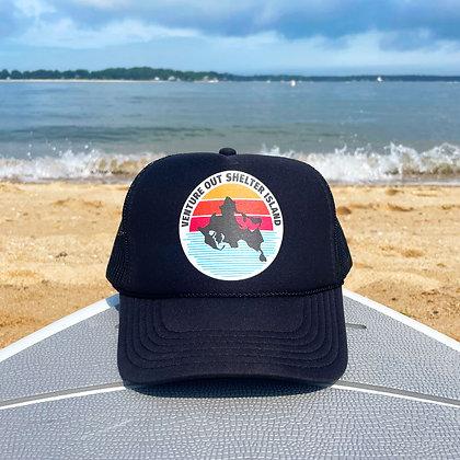 Sunset Logo Trucker Hat