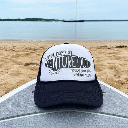 Grunge Logo Trucker Hat
