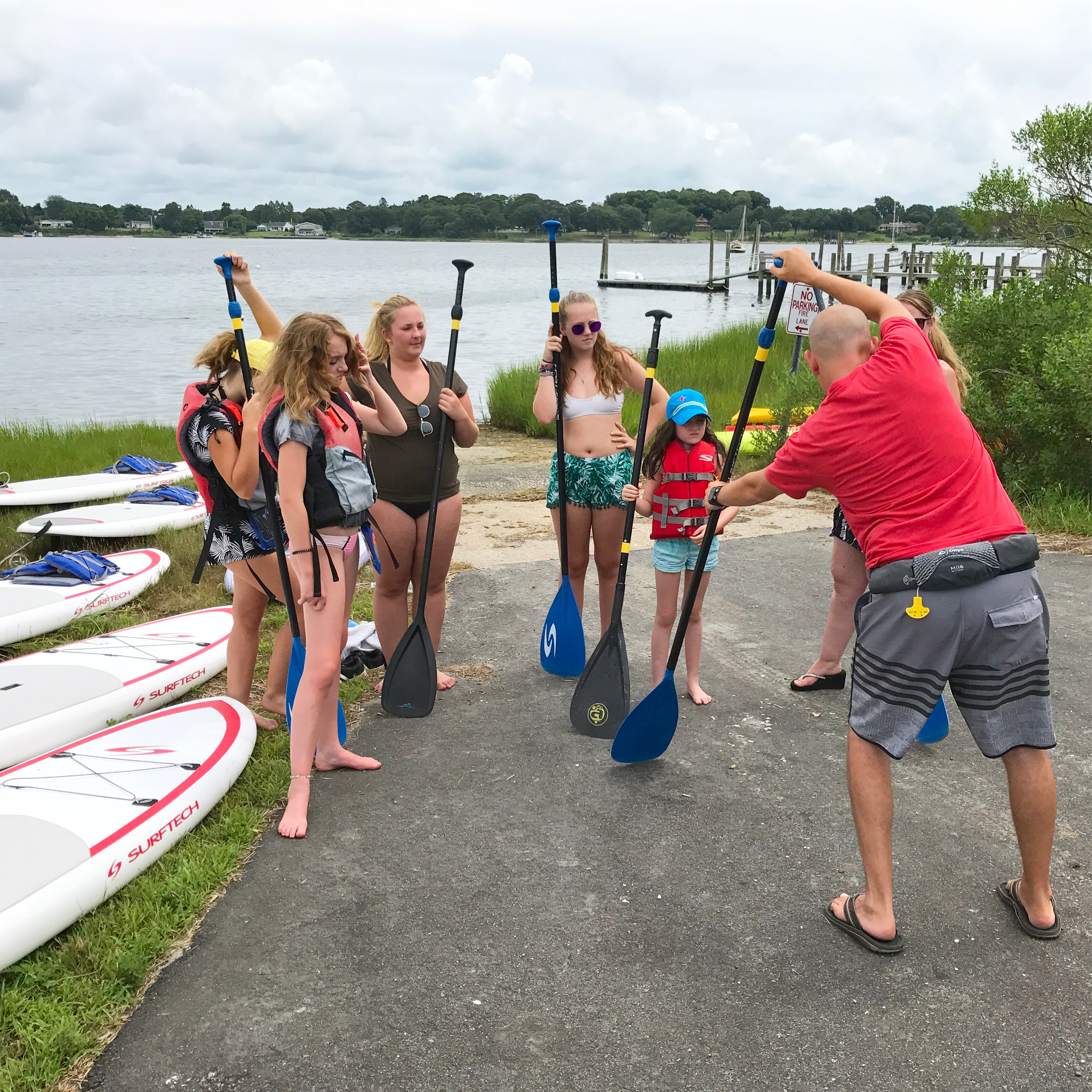 Paddle Boarding Lesson