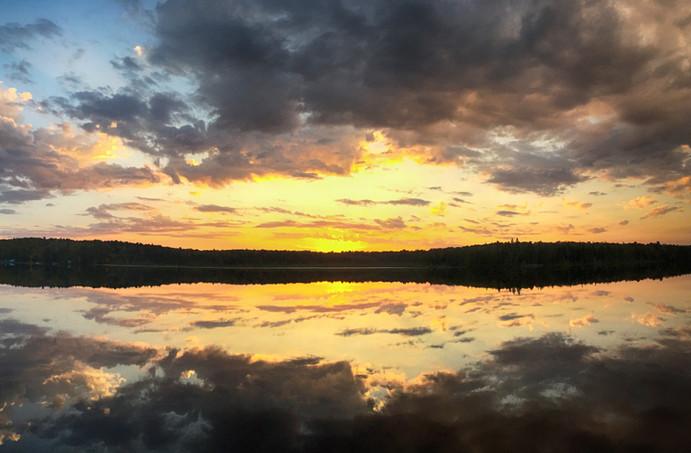 Sunset Deer Lake