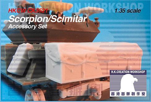 HKCW CK3521 CVR(T) Scorpion/Scimitar Accessory set