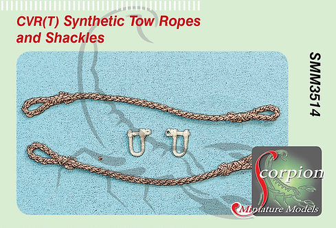 SMM 3514 CVR(T) Synthetic Tow Ropes and Shackles