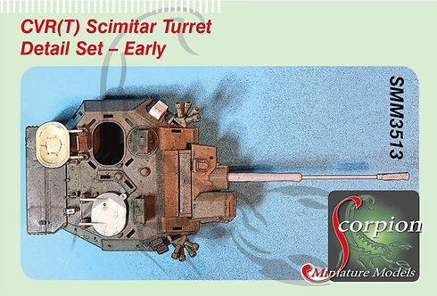 SMM 3513 CVR(T) Scimitar Turret Detail Set - Early