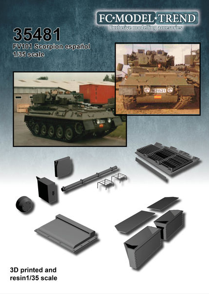 FCM35481 Spanish Marines Scorpion Conversion part 1