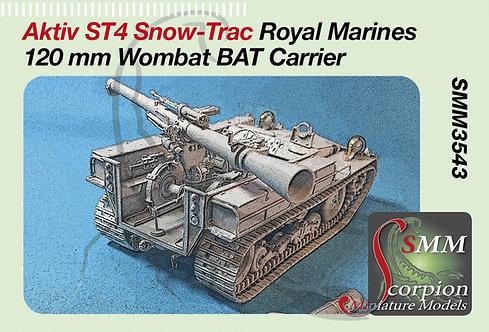 SMM3543 Aktiv ST4 Snow-Trac Royal Marines  120 mm BAT Wombat Carrier