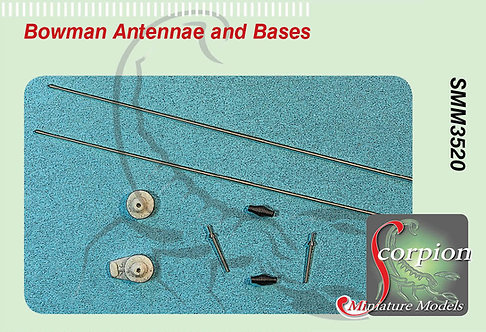 SMM3520 Bowman Antennae and Bases
