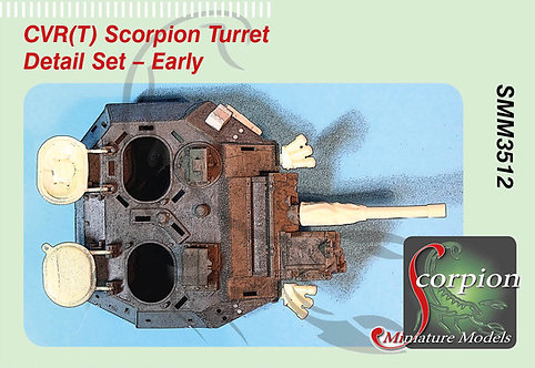 SMM 3512 CVR(T) Scorpion Turret Detail Set - Early