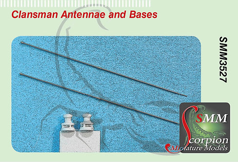 SMM3527 Clansman Antennae and Bases
