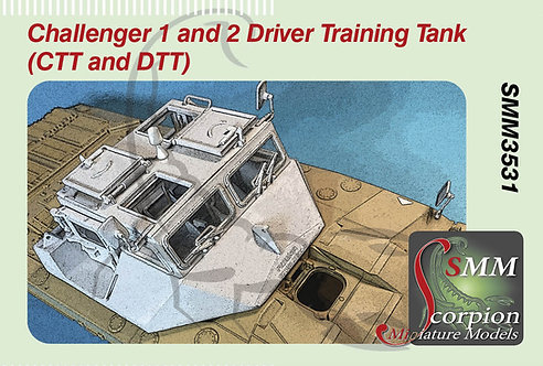 SMM3531 Challenger 1 and 2 Driver Training Tank  (CTT and DTT)