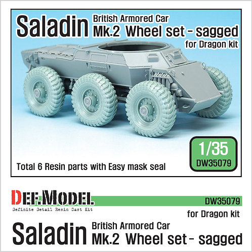 DEF Model 35079 Saladin Wheels - Sagged