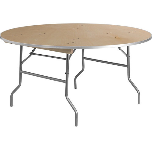 """60"""" Round Heavy Duty Banquet Table"""