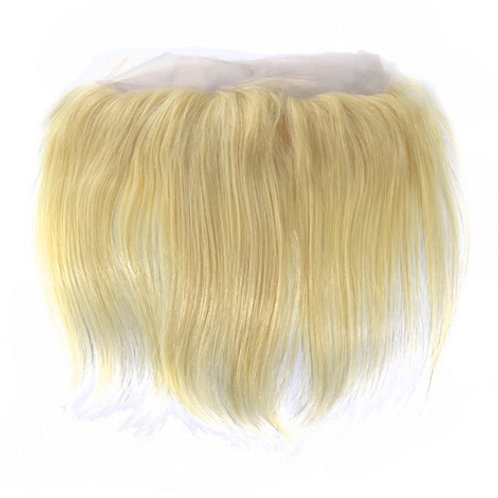 Russian Blonde Straight Frontal