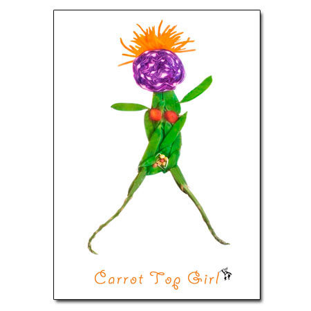Carrot Top Girl