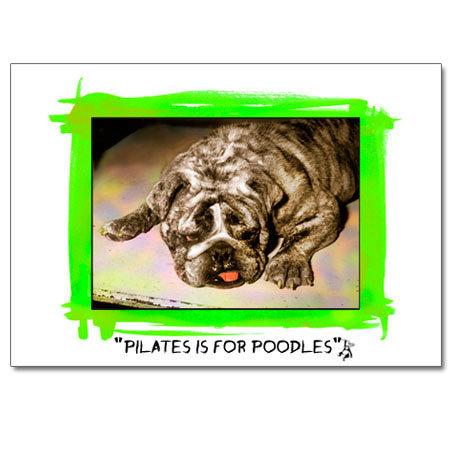 Pilates (greeting card)