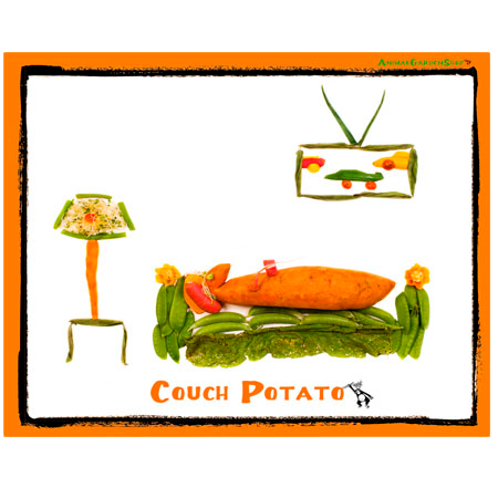 Couch Potato  (T shirt)