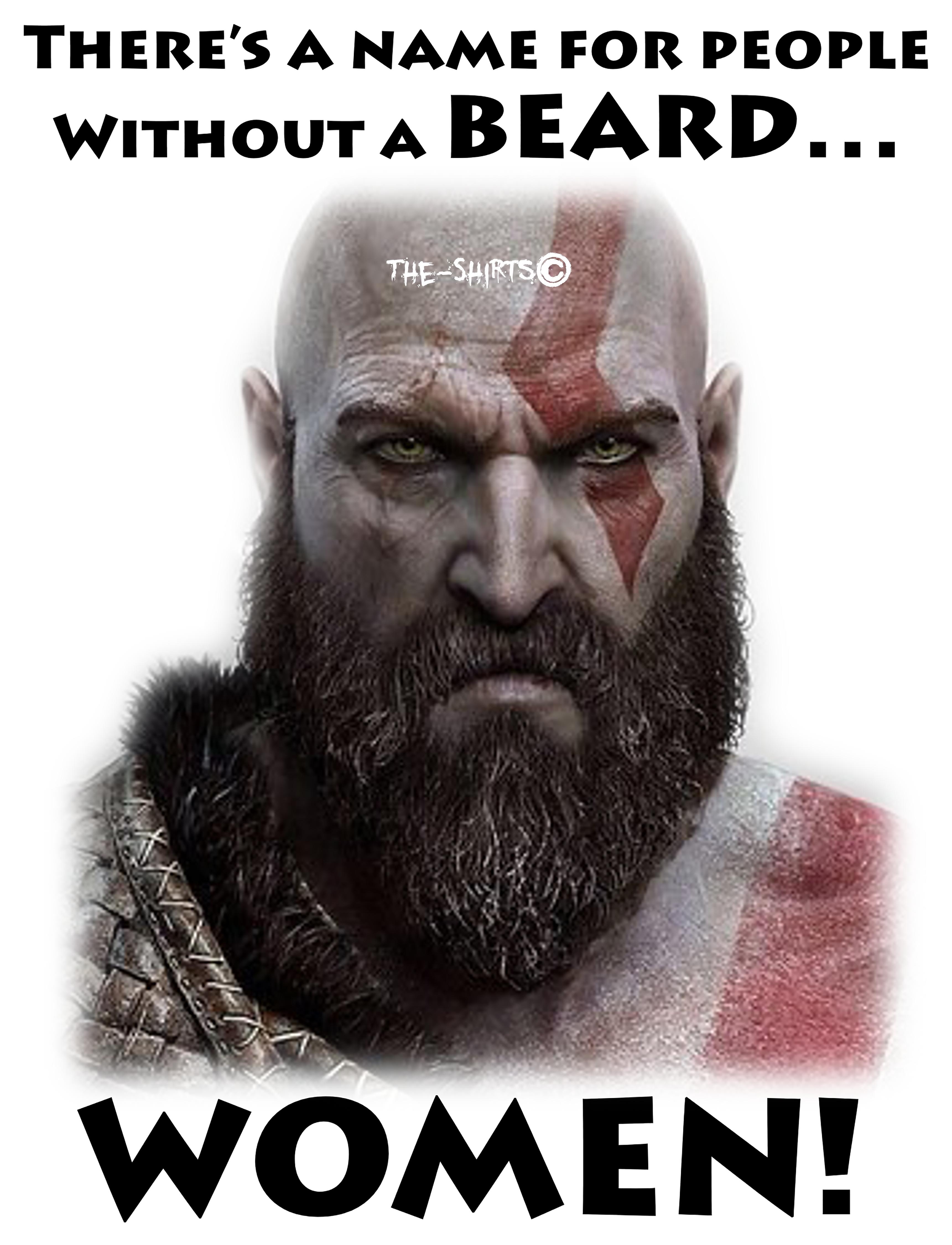 Kratos Beard