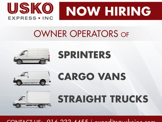 Hiring Owner Operators for Expedite