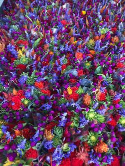 Bright bouquets for Wegmans