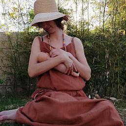 Robe allaitement - Petite graine by mums