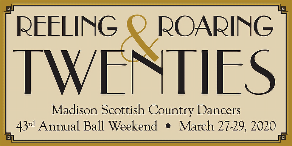 43rd Annual Ball Weekend - March 27-29, 2020  CANCELLED