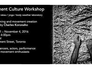 Movement Culture Workshop